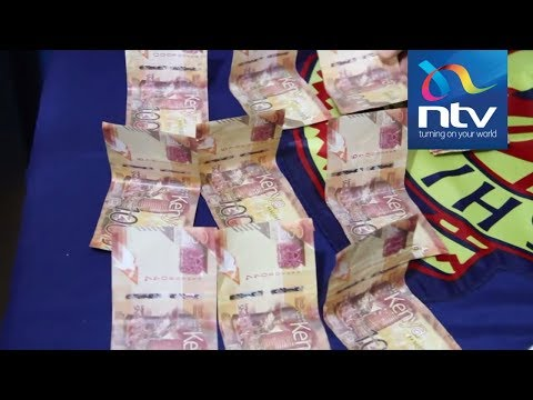 Man arrested with KSh 892,000 in fake new currency notes in Muranga