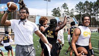 CAM NEWTON'S 7ON7 TEAM IS CHEAT CODE.. (BEST TEAM I'VE EVER SEEN)