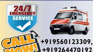 Get Low Fare Road Ambulance Service in Darbhanga and Muzaffarpur by Medivic