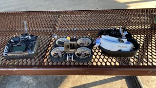 My first time flying FPV with the Diatone Taycan Cinewhoop