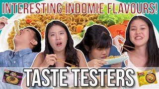 Salted Egg and Other Interesting Indomie Flavours | Taste Testers | EP 74