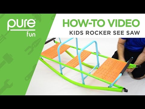 Pure Fun | How-To Video: Kids Rocker See Saw 9306RS