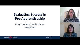 Evaluating Success in Pre-Apprenticeship