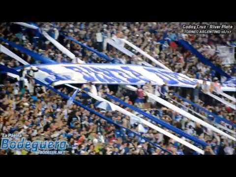 """""""Hinchada vs. River Plate"""" Barra: La Banda del Expreso • Club: Godoy Cruz"""
