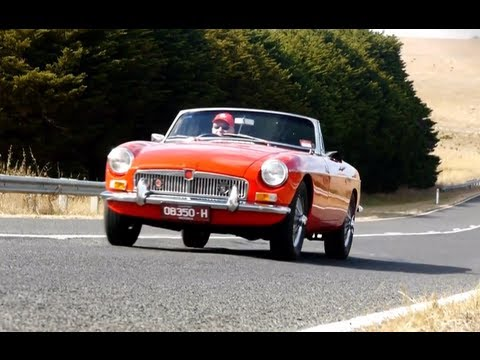 1967 MGB Mark I Classic Car Review Video