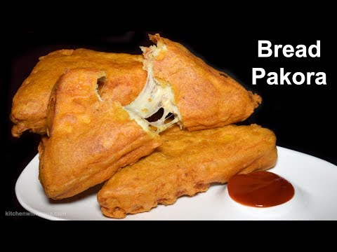 Bread Pakora – Potatoes Cheese Bread Pakora – Cheese Pakora Special Ramadan Recipe