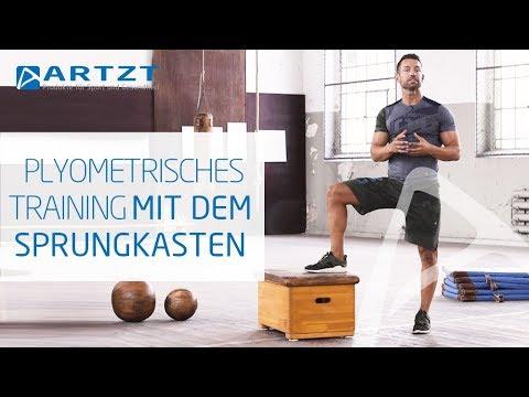 Schnelles Training: 7 Übungen für mehr Kraft & Schnelligkeit mit dem Sprungkasten | ARTZT