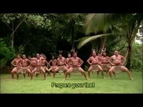 Maori Haka tanec  CESTA SVETLA