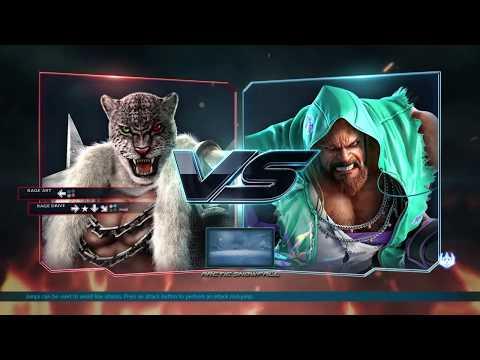 King (Armor King) VS Gigas (Craig Marduk) TEKKEN 7 practice