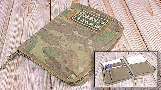 Обложка для блокнота А5 от компании Военное тактическое снаряжение Вотан - видео