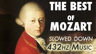 The Best Of Mozart - Slowed Down @ 432Hz | 4.5 Hours