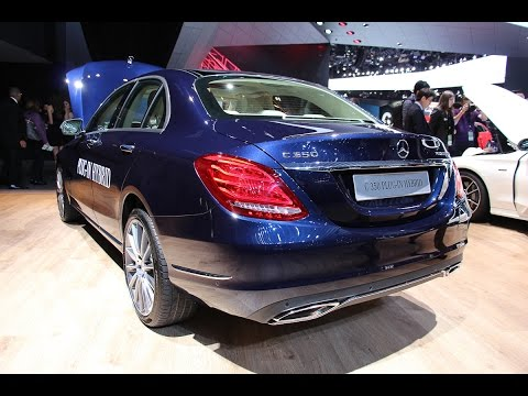 2015 Mercedes-Benz C350e die C-Klasse mit Plug In Hybrid