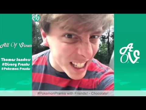 Thomas Sanders Disney Pranks Pokemon Pranks With Friends   Funny Thomas Sanders Vines