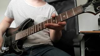 Gojira - The Way of All Flesh (guitar cover)