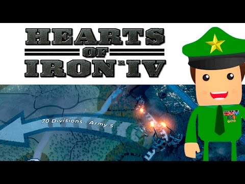 Gameplay de Hearts of Iron IV: Field Marshal Edition
