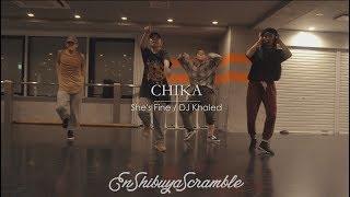 "CHIKA "" She's Fine / DJ Khaled ""@En Dance Studio SHIBUYA SCRAMBLE"