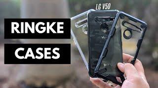 LG V50 ThinQ 5G // Ringke Fusion & Ringke Fusion X Cases