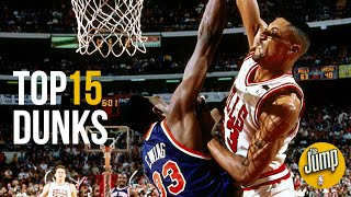 Top 15 Most Memorable NBA Dunks of All-Time | The Jump