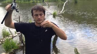 Как рисовать удочку с рыбой