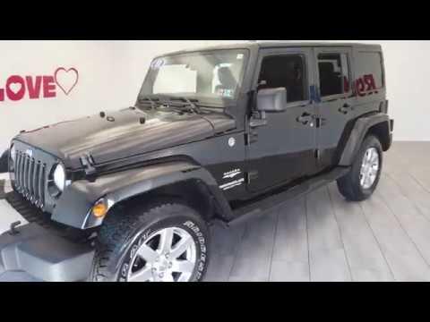 Pre-Owned 2011 Jeep Wrangler-V6 Sahara