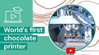 Шоколад, World's first chocolate printer
