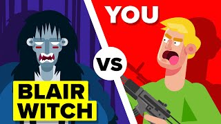 YOU vs THE BLAIR WITCH - Who Would Win? (Blair Witch Project Horror Movie)