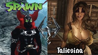 Skyrim mods N7 Varia suit  Taliesina Riverwood camp update and Spawn