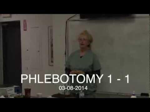Day 1 of Phlebotomy at Phlebotomy Career Training - YouTube
