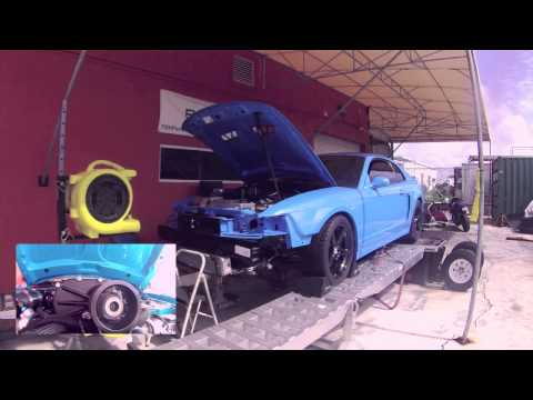 E85 Powered 2003 Cobra with 4.0L Whipple Crusher