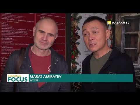 Казахстанский театр покоряет Молдавию (eng)