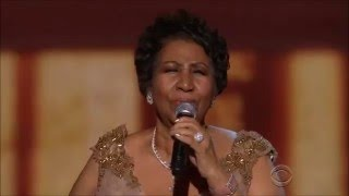 Aretha Franklin (Natural Woman) 2015, Obama cries at the Annual Kennedy Center Honors