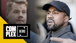 Kanye Canceled 'Carpool Karaoke' Taping Right as James Corden Arrived to Pick Him Up