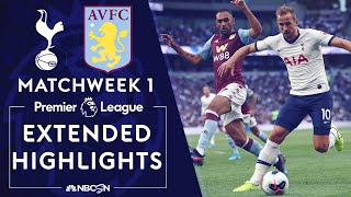 Tottenham v. Aston Villa   PREMIER LEAGUE HIGHLIGHTS   8/10/19   NBC Sports