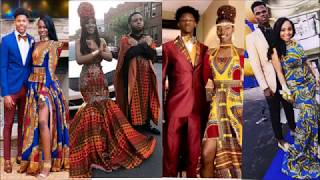 15 African Print Prom Dress And Suit Designs For Partners