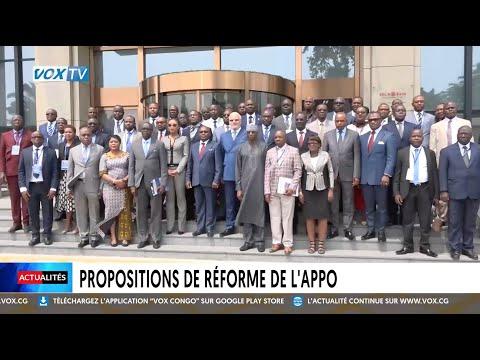 Propositions de réforme de l'APPO Propositions de réforme de l'APPO