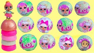 LOL Surprise Mystery Blind Bag Ball Doll Haul - Cookie Swirl Toy Video