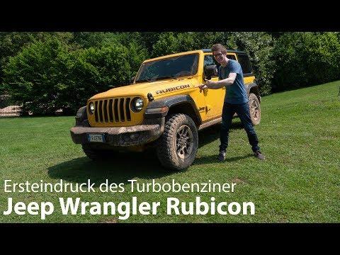 2019 Jeep Wrangler Rubicon 2.0 T-GDI Fahrbericht / Der will es schmutzig! - Autophorie
