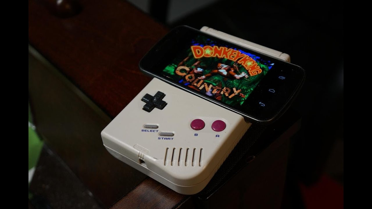 Convert An Old Game Boy Into An Android Gamepad