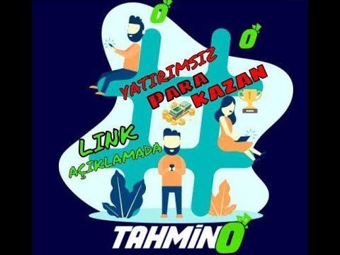 Tahmino ile Yatırımsız Kazanç Link Açıklamada Kaçırmayın!!!!