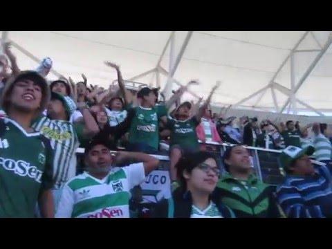 """""""Los Devotos levantando a Temuco en el collao (2016)"""" Barra: Los Devotos • Club: Deportes Temuco"""