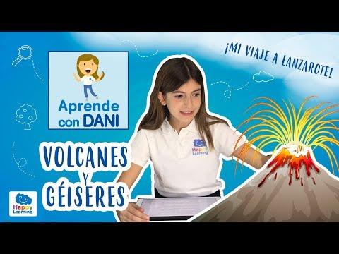 Volcanes y Géiseres para niños de primaria