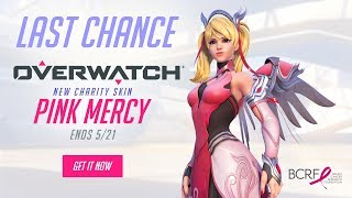 [NOW AVAILABLE] Pink Mercy | Support BCRF | Overwatch
