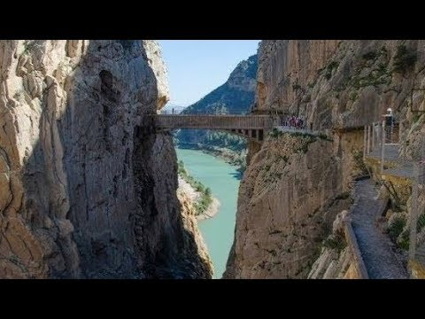 Gaitanes Gorge on Canal Sur Turismo TV programme
