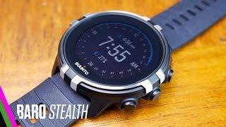 Suunto Spartan Sport Wrist HR Baro Stealth REVIEW