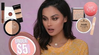Full Face Of Drugstore Makeup Under $5 - Video Youtube