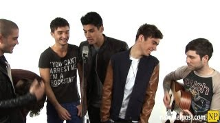 In Studio: The Wanted - Glad You Came