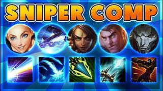 *FUNNY* 5 SNIPERS vs 5 SCRIPTERS (YOUTUBER BATTLE) - BunnyFuFuu