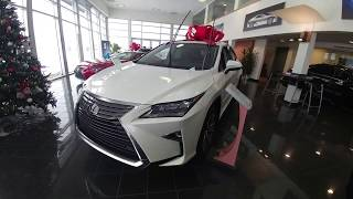 HOW TO PUT UP or RAISE THE WIPERS ON LEXUS RX 2017!