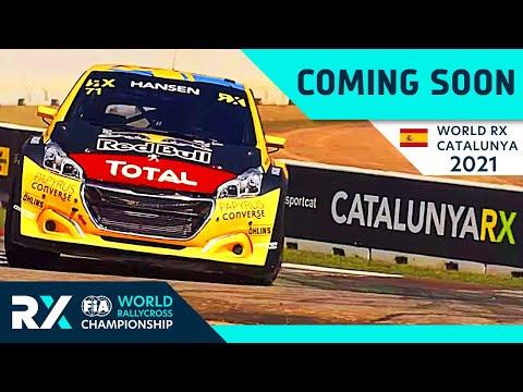 世界ラリークロス 第1戦スペイン(カタルニア)2021年のプレビュー動画