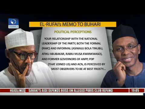 Politics Today: President's Aides Allegedly Stifling Good Governance, How True? Pt 1
